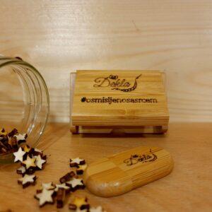 Drveni USB s kutijicom